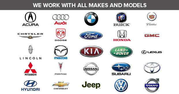 Car makes we supply and purchase